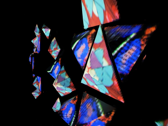 Alinta Krauth - Little Boxes - Projection Mapping 1